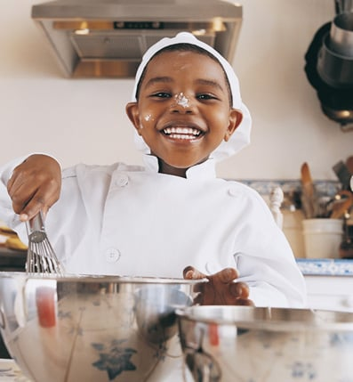 Tots Take a More Culinary Approach to Cooking