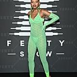 Slick Woods at the Savage x Fenty New York Fashion Week Show
