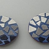 Each mosaic piece is handcut from flock and laid individually — and the finished result are standout studs. Mosaic Studs ($11)