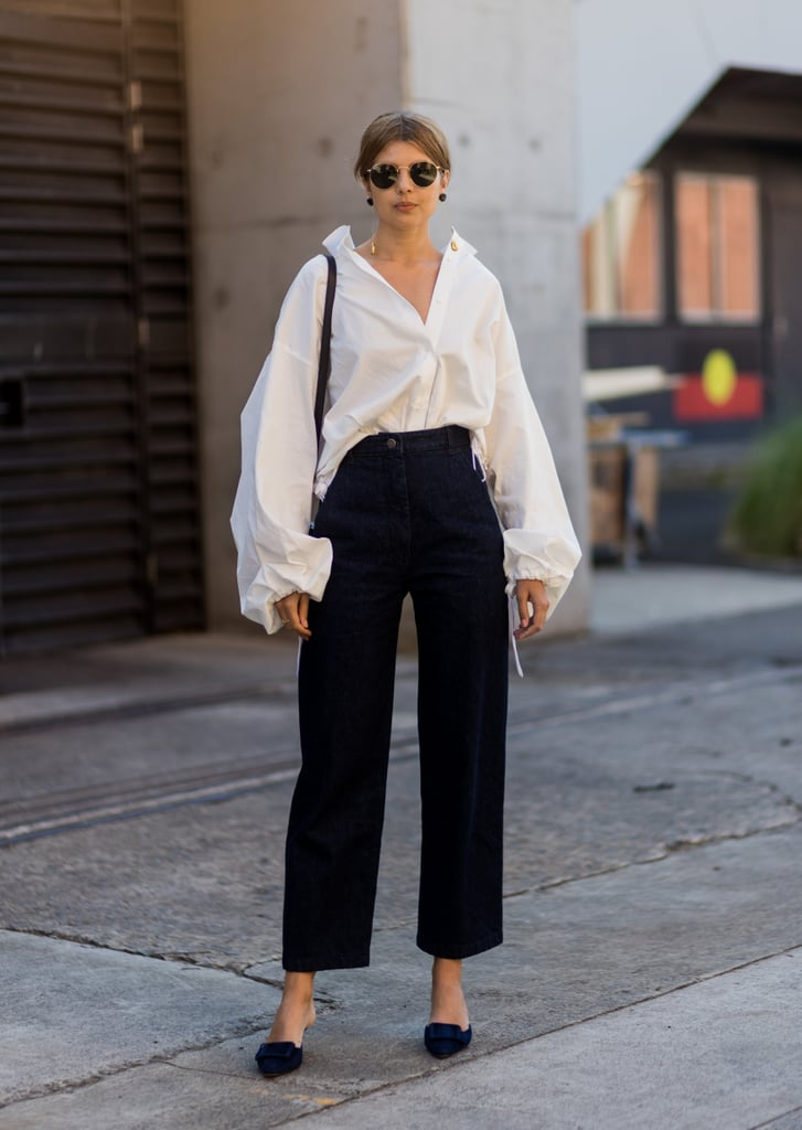 French Tuck and Cascading Sleeves