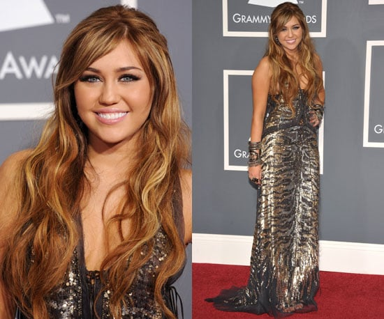 Miley Cyrus Grammys 2011