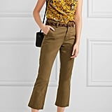 A going-out top courtesy of Etoile Isabel Marant ($150) is wondrous with a marigold print.