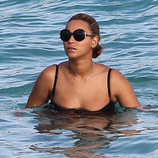 Beyonce in a Bathing Suit in St. Barts Pictures