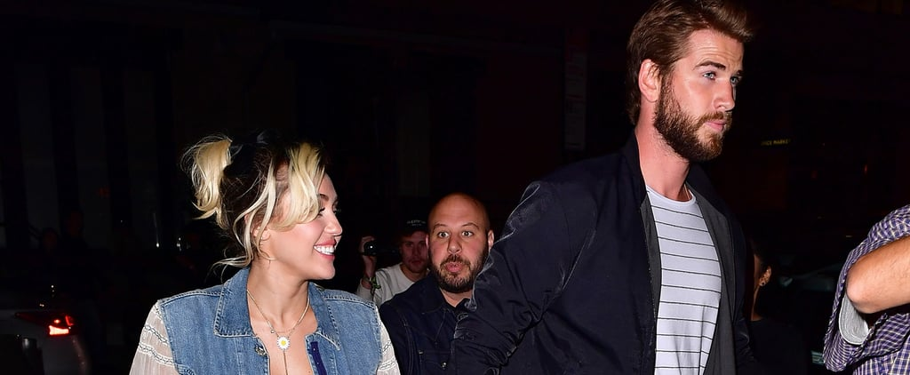 Liam Hemsworth Proves That Chivalry Isn't Dead During a Night Out With Miley Cyrus