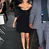 Selena Gomez's Black Dress at The Dead Don't Die Premiere
