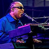"Stevie Wonder had the crowd singing along to hits like ""Sir Duke"" and ""Superstition."""