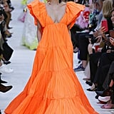 Demi's Valentino Dress on the Spring 2020 Runway