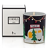 R. Nichols Sparkle ($38) is the perfect candle for anyone who doesn't want to give up their Christmas tree. Bright and sparkling, this candle is joyful.