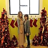 Lauren Conrad at a Kohl's holiday event.