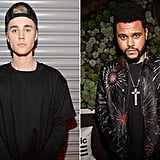 January: Justin Bieber vs. The Weeknd