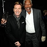 Ewan McGregor and Morgan Freeman