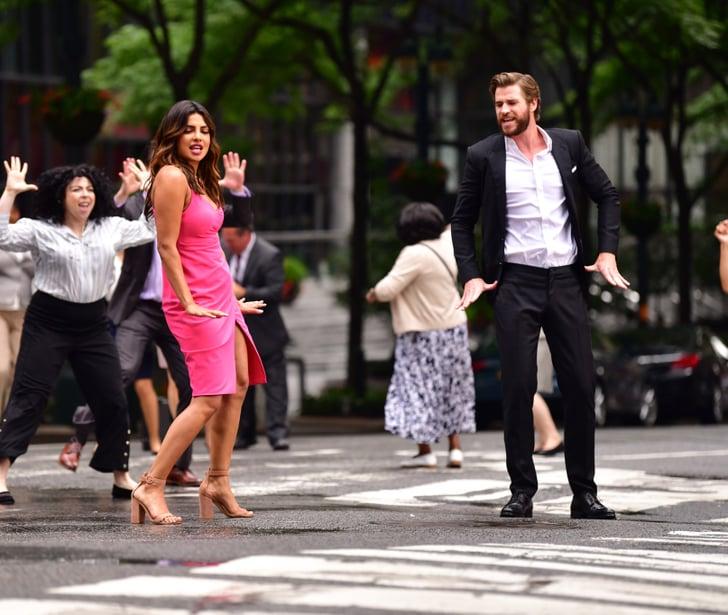 Liam Hemsworth Dawn Of A Rebel: Liam Hemsworth On Isn't It Romantic Set Pictures July 2018