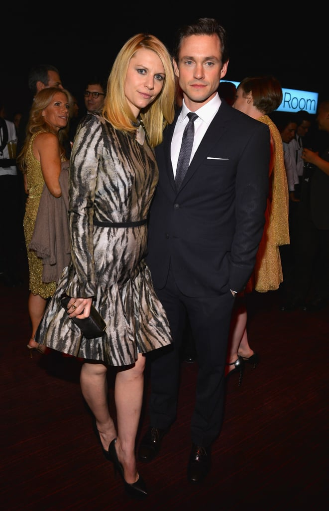 Claire Danes and Hugh Dancy posed for cameras.