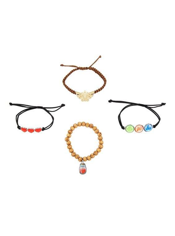 Legend of Zelda Symbols Bracelet Set ($11)