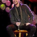 Jackson Rathbone had fun on stage in Chicago.