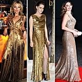 Whose Gold Dress Do You Like Best?