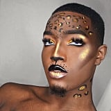 Glitter Leopard