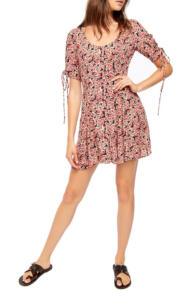 Free People Lace Up Minidress | The Best Spring Dresses on
