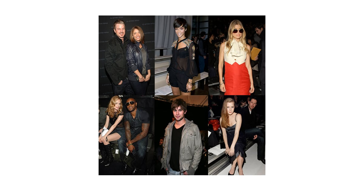 Celebrities Still Sitting Pretty At Fashion Week