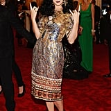 Katy Perry at the Met Gala 2013.