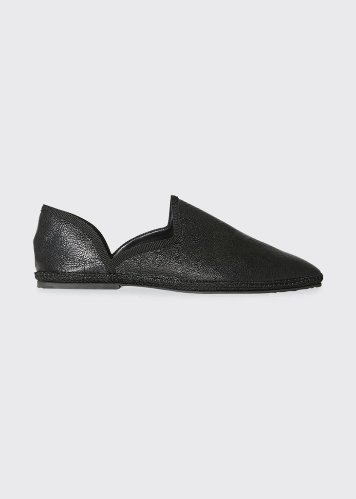 The Row Friulane Flat Soft Leather Slippers