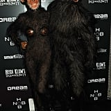 Heidi Klum and Seal were apes for Halloween in 2011.