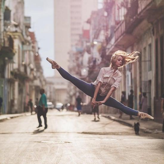 Ballerines Dansant Dans la Rue