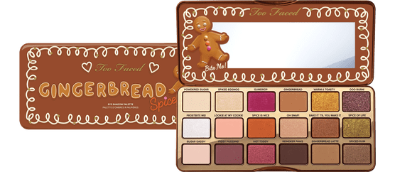 Too Faced Gingerbread Spice Eye Shadow Palette | Best Food