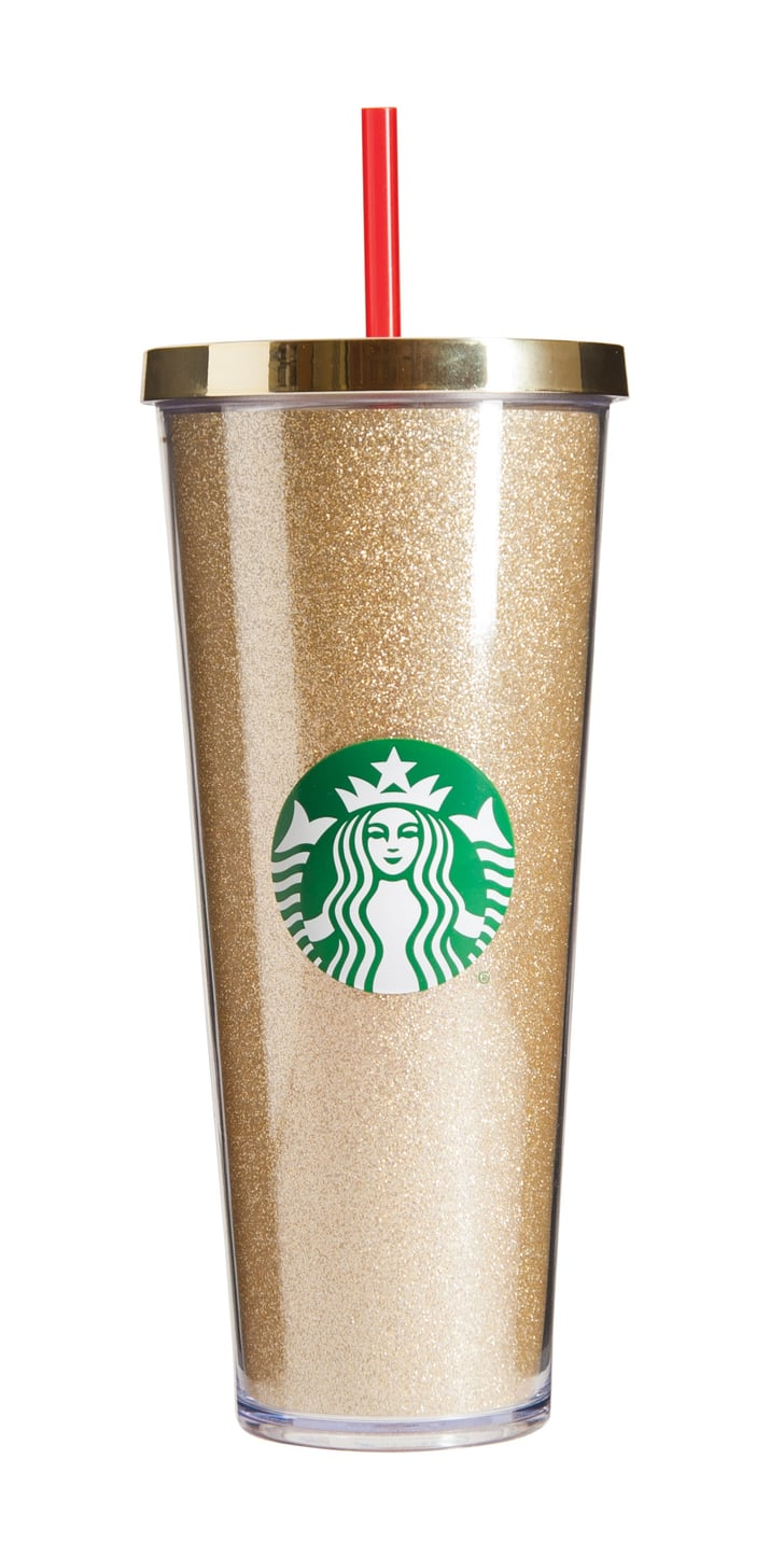 starbucks174 dot collection 2015 � acrylic cold cup gold