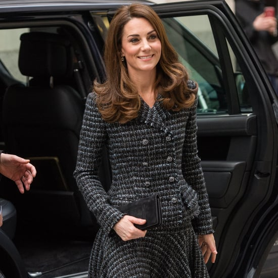 Kate Middleton Skirt Suit February 2019