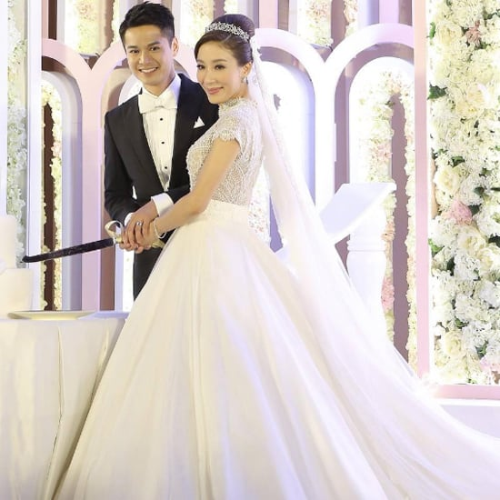 Tavia Yeung's Wedding Dress