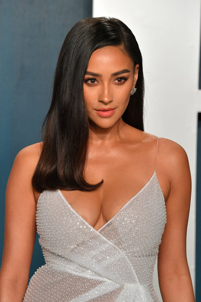 Shay Mitchell at the Vanity Fair Oscars Afterparty 2020
