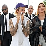 What Does Justin Bieber's Face Tattoo Say