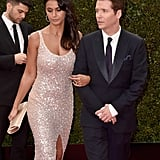 Emmanuelle Chriqui and Kevin Connolly