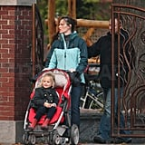 Photos of Jennifer Garner and The Girls at the Park