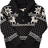 Peek 'Reindeer' Shawl Collar Sweater