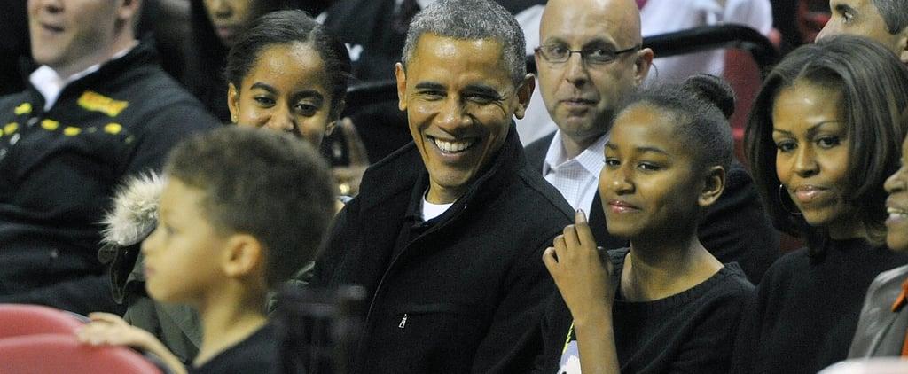 Barack Obama Reflects on Coaching Sasha in His Memoir