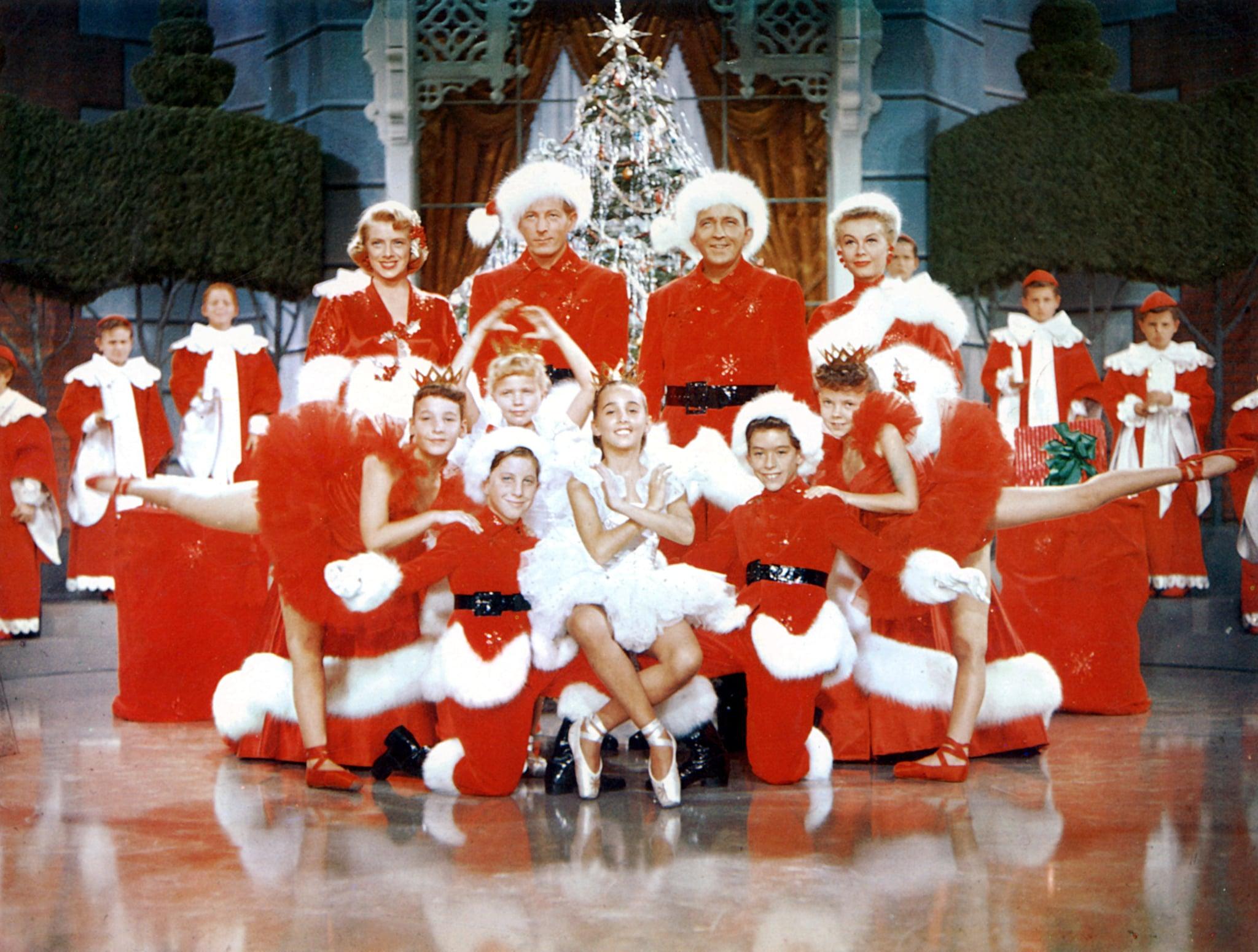 WHITE CHRISTMAS, Rosemary Clooney, Danny Kaye, Bing Crosby, Vera-Ellen, 1954