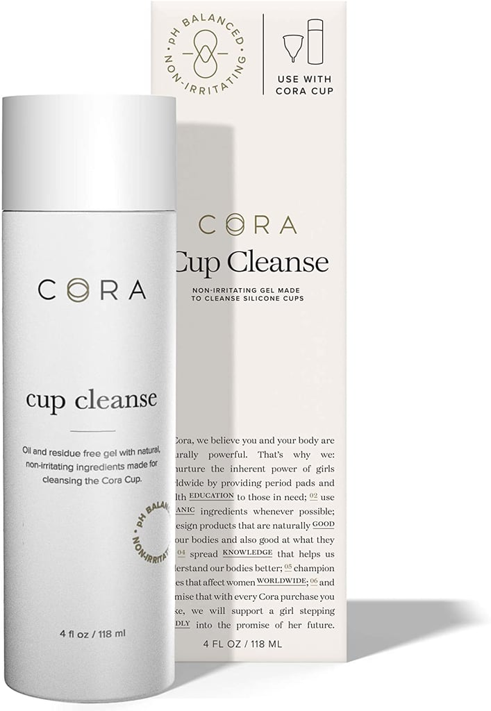 Cora Menstrual Cup Cleanse