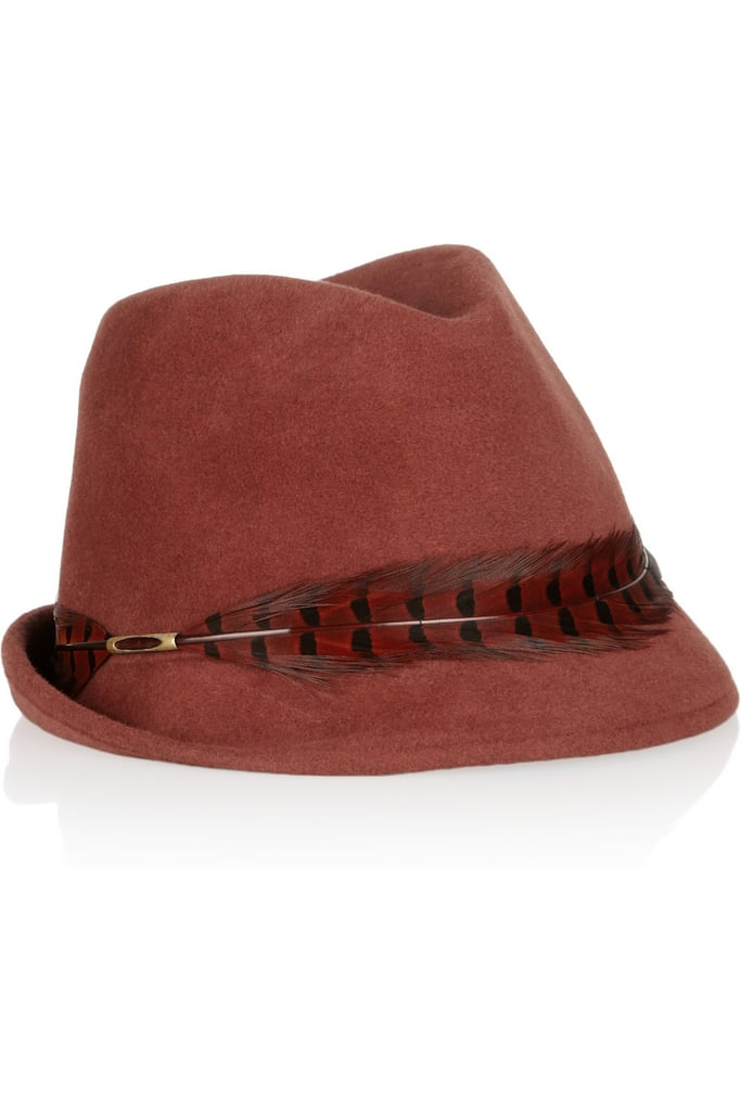 Eugenia Kim makes some of the best hats around; this Craig Feather-Trimmed Rabbit-Felt Fedora ($93, originally $310) would be the perfect gift for your downtown girl.