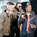 French Montana, 2 Chainz, and B. Dot Miller at the 2019 MTV VMAs