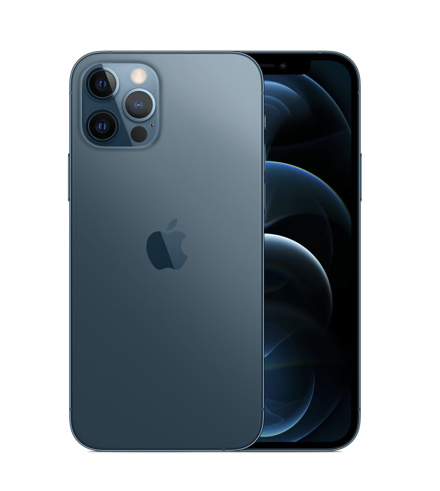 The iPhone 12 Pro Comes in a Pacific Blue Color