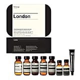 After the birth of the royal baby, who doesn't have England on the brain? I'm ready to jet off to London in a snap thanks to this handy travel kit from Aesop ($75). Taking the actual weather and air conditions of London into consideration, the kit has travel-sized versions of the brand's classics along with its new mouthwash. And the sleek case is reusable for full-size Aesop products once the vacation is over. Now, when do I get my invite to meet Prince George? — Melissa Liebling-Goldberg, Fashion and Beauty Director