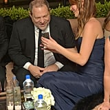 Jennifer Lawrence hung out with Harvey Weinstein.