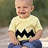 Charlie Brown Zig-Zag Kids Shirt