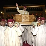 King Mohammed VI and Salma Bennani  The Bride: Salma Bennani, then a commoner. The Groom: Morocco's King Mohammed VI. When: During a two day celebration from July 12, 2002, to July 13, 2002. Where: Rabat. It broke the centuries-old Moroccan tradition of shielding the monarch's wife from the public.