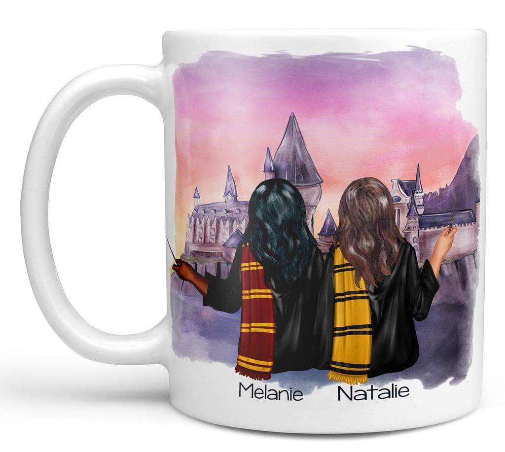 Wizard Best Friend Custom Coffee Mug (2-6 People)
