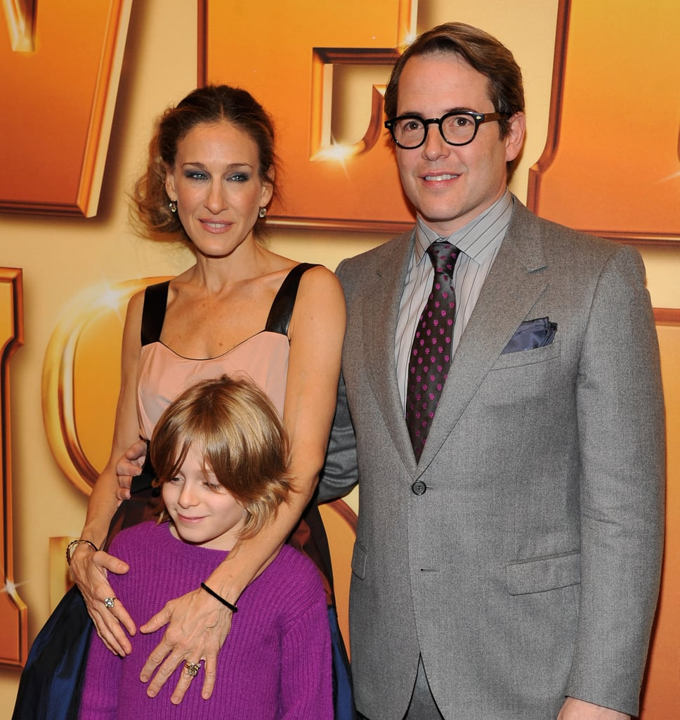 Sarah Jessica Parker hugged James Wilkie.