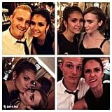 Dobrev ran into a ton of celebrity friends during Paris Fashion Week. Source: Instagram user ninadobrev