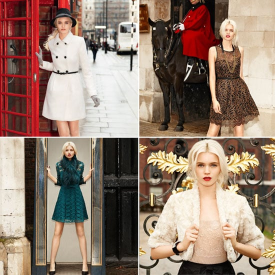 First Look at Australian Supermodel Abbey Lee Kershaw for Portmans Autumn Winter 2012 Campaign Shot in London